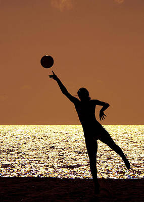 Photograph - Beach Volleyball by Celso Diniz