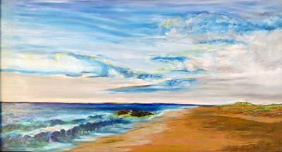 Pastel - Beach Walk by Daniel Dubinsky