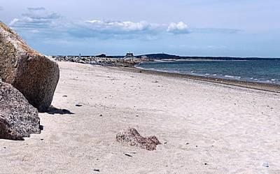 Photograph - Beach Walk Plymouth Beach by Janice Drew