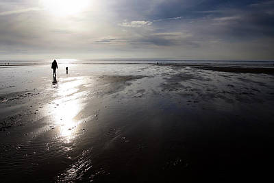 Photograph - Beach Walk by Steve Ball