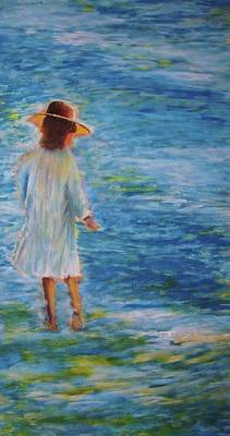Painting - Beach Walker by John Scates