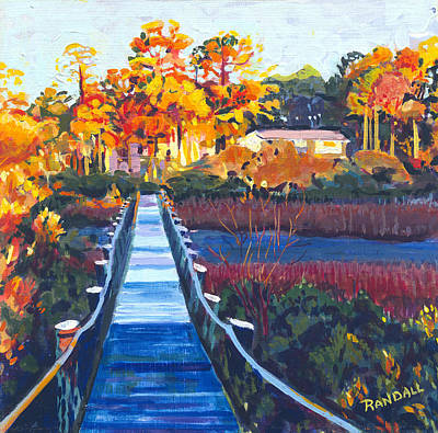 Painting - Beach Walkway by David Randall