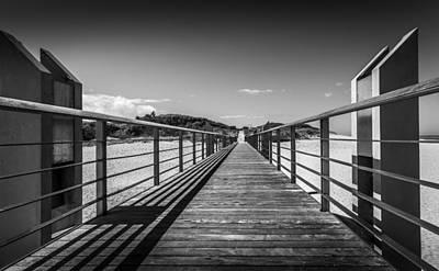 Photograph - Beach Walkway by Gary Gillette