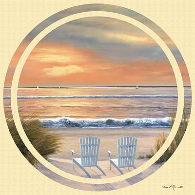Painting - Beach World by Diane Romanello