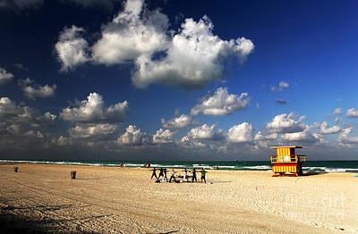 Photograph - Beach Yoga by John Rizzuto