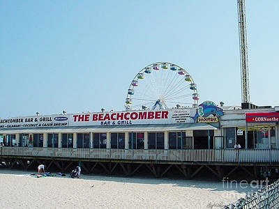 Photograph - Beachcomber Seaside Nj by Lyric Lucas