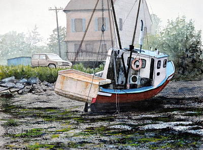 Painting - Beached by Bill Hudson