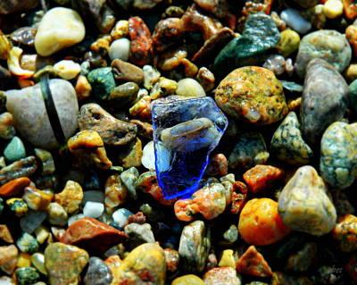 Beachglass Photograph - Beached Blue by Bruce Carpenter