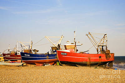 Photograph - Beached Boats by Diane Macdonald