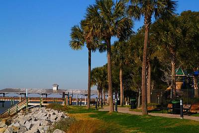 Photograph - Beachfront At St Simons Island by Kathryn Meyer