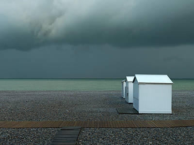 Shack Photograph - Beachhouses by Elisabeth Wehrmann
