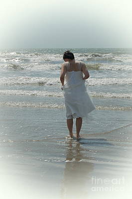 Photograph - Beachside Wedding by Tamyra Crossley