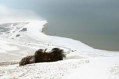Photograph - Beachy Head In Winter by Mick House