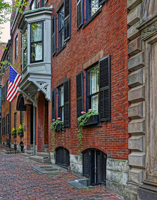 Photograph - Beacon Hill 003 by Jeff Stallard