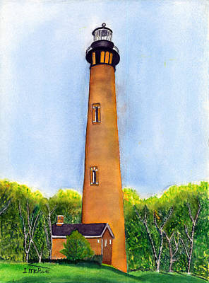 Painting - Beacon Home by June McRae