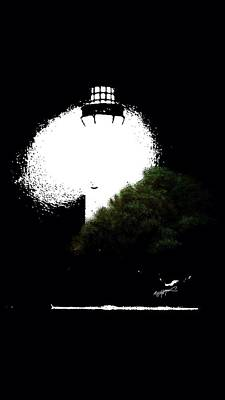 Art Print featuring the digital art Beacon Of Light by Anthony Fishburne