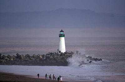 Photograph - Beacon On The Jetty by Deana Glenz