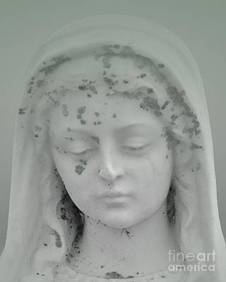 Photograph - Beaded Angel Head Mint by Josephine Cohn