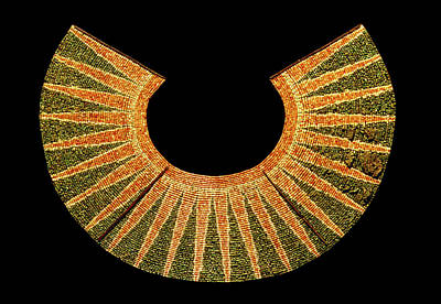 Peru Photograph - Beaded Pectoral by Pasquale Sorrentino/science Photo Library