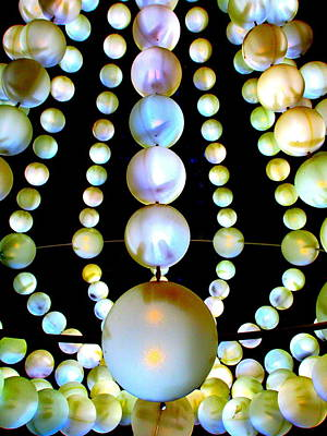 Beads Art Print by Randall Weidner