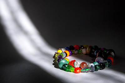 Photograph - Beads by Tim Nichols