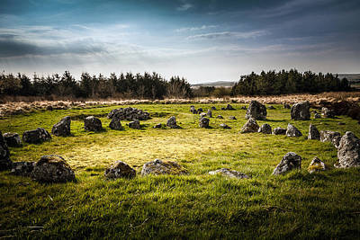 Photograph - Beaghmore Stone Circles by George Pennock