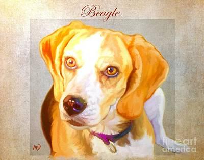 Beagle Art Art Print by Iain McDonald