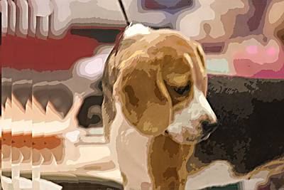 Photograph - Beagle Baby by Donna G Smith