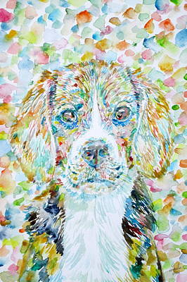 Painting - Beagle by Fabrizio Cassetta