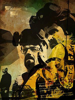 Breaking Bad Poster Print by Albert Lewis
