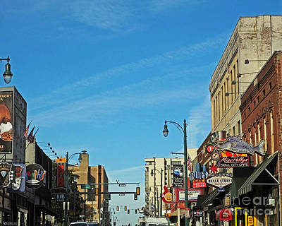 Photograph - Beale And Third Memphis Tn by Lizi Beard-Ward