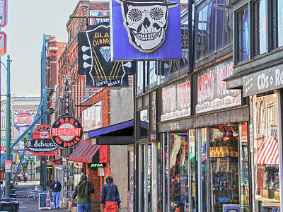 Beale Walk Art Print by Suzanne Barber