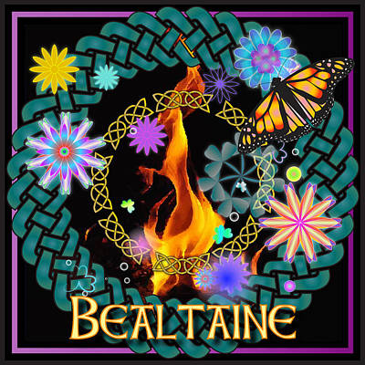 Digital Art - Bealtaine Festival by Ireland Calling
