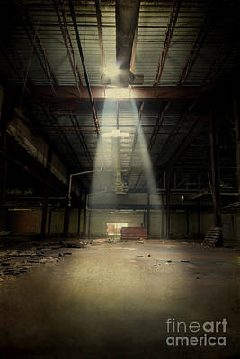 Destruction Photograph - Beam Me Up by Evelina Kremsdorf