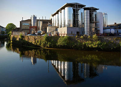 Beamish & Crawford Brewery, River Lee Art Print by Panoramic Images