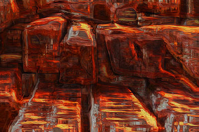 Reality Painting - Beams by Jack Zulli