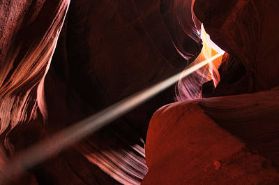 Art Print featuring the photograph Beams Of Light by Dan Myers