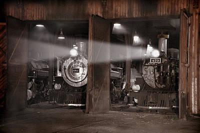 Silverton Colorado Photograph - Beams Of Light by Ken Smith