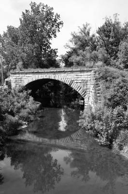 Photograph - Bean Creek Stone Arch Bridge by Jennifer  King