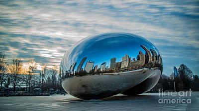 Stopper Photograph - Bean Sunrise by Andrew Slater