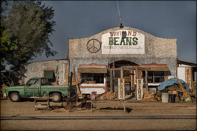 Photograph - Beans For Sale by Erika Fawcett