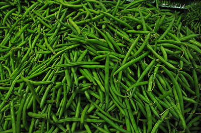 Photograph - Green Beans by Robert Habermehl