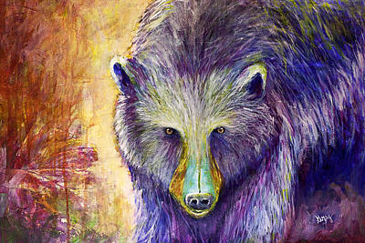 Painting - Bear Art by Gray  Artus