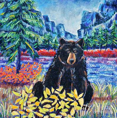 Bear By The Lake Print by Harriet Peck Taylor