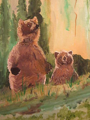 Painting - Bear Encounter by Dody Rogers
