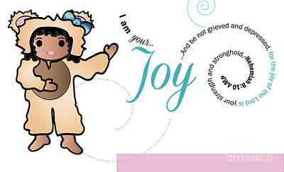 bear fruit -Joy Art Print