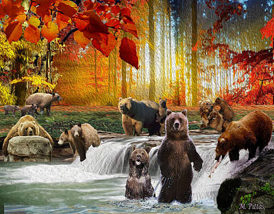 Bear Heaven Art Print