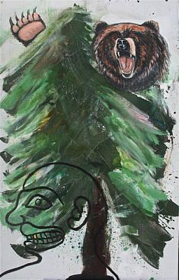 Painting - Bear Hunting by Dan Koon