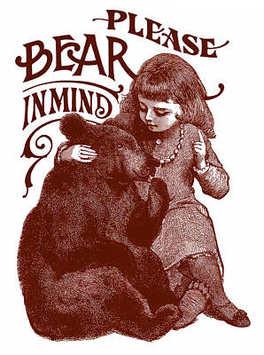 Bear In Mind Art Print