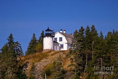 Photograph - Bear Island Light.  by New England Photography